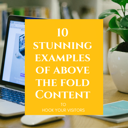 10 above the fold examples